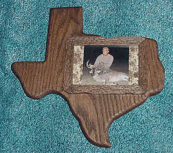 Texas Picture Plaque