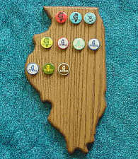 Illinois Pin Plaques